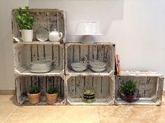 Cagettes et caisses en bois recyclées : 10 créations originales