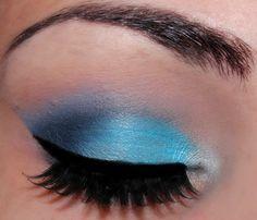 Blue Eyeshadow Mac Prussian