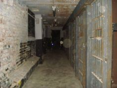 Orbs in an old prison
