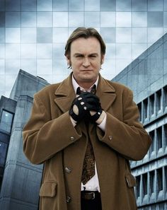 "Gene Hunt (Philip Glenister) of ""Life on Mars"" and ""Ashes to Ashes""."