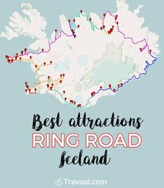 Best attractions along the Ring Road. Complete roadbook. #FreeTravelGuides