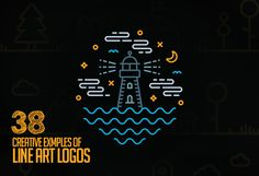 Line Art Used in Logo Design – 38 Amazing Concepts and Ideas #lineart #logoconcept #logoideas #logodesign