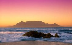 Table Mountain was declared 1 of the & 7 Natural Wonders of the World& in Oh The Places You'll Go, Places To Travel, Places To Visit, Table Mountain Cape Town, Beautiful World, Beautiful Places, 7 Natural Wonders, Surf, Cape Town South Africa