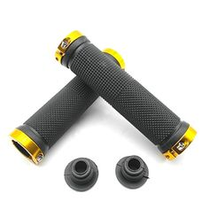 Bike Grips - TrendBox Ergonomic Design Rubber Bike Bicycle Handlebar Straight Grips Comfort Antislip Mountain Cycling -- Want to know more, click on the image.