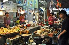 Hong Kong for its famous street food.