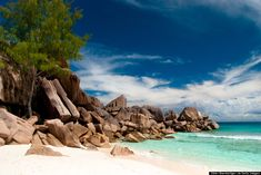 In Honor Of National Relaxation Day, Here Are Some Of The Most Relaxing Places On Earth: Grand Anse Beach, Seychelles