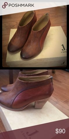 Size 7 J. Shoes Beautiful and brand new J. Shoe booties. I love them but my feet are very narrow and they slip on my heel. Just looking to recoup the cost of sale. They have NEVER been worn! J Brand Shoes Ankle Boots & Booties