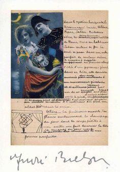 poème-collage de Breton