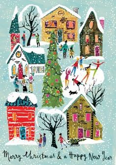 Merry Christmas and happy new year cards. Merry Christmas for your friends and loved ones. Free online Merry Christmas & Happy New Year cards on Christmas. Merry Little Christmas, Noel Christmas, Merry Christmas And Happy New Year, Retro Christmas, Christmas Greetings, Winter Christmas, Xmas, Merry Christmas Pictures, Birthday Greetings
