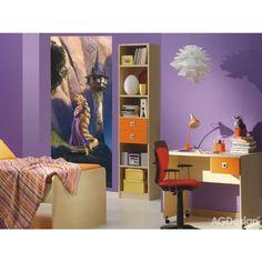 Aranyhaj álló poszter (90 x 202 cm) Nursery Wallpaper, Paper Wallpaper, Photo Wallpaper, Disney Wallpaper, Baby Room Wall Decor, Nursery Decor, How To Apply Wallpaper, Rapunzel Movie, Disney Princess Rapunzel