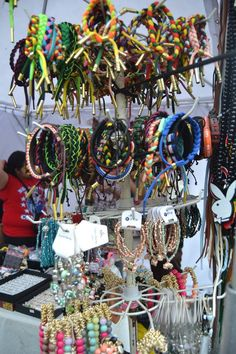 Even the popular rastaclat are overflowing here with all the colors you could possibly like. Wear the rainbow with these adorable arm candies! ou can find lot of these at A.G.E. bazaar