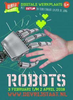 Kunstwerkplaats - ROBOTS :: Kinderkunstwerkplaats De Vrijstaat Robot, Robots