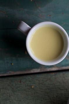 Golden Milk: Turmeric and Ginger Tea with Coconut Milk