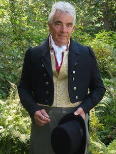 Mens Regency Dress-Coat 1810 to 1830 by RobinRobarts on Etsy