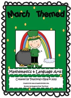 Have some fun in March with this fun Math