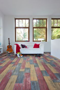 How Crazy Can You Go With A Vinyl Floor