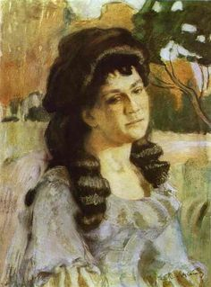 Portrait of a Lady - Victor Borisov-Musatov