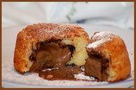 Mini gâteau au yaourt au coeur gourmand : Etape 5