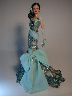 Barbie Green Splash Artist Creations Italian O.O.A.K. Fashion Dolls by Alessandro Gatti e Giuseppe De Bellis