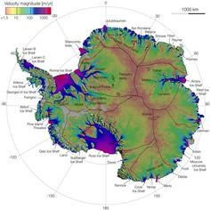 High above the earth, satellites are now mapping ice flows in the Antarctic, providing vital information on the progress of climate change for the first time.NASAfunded the researchers, who published their results this week inScience Express. The m...