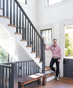 since the stairs are in what I consider the kitchen, mine need a little sprucing up like this ... always wanted a split door but is it practical in cottage country in Ontario?