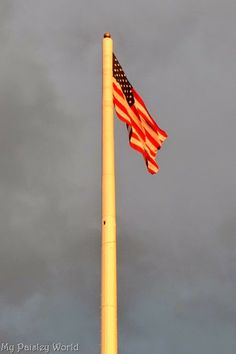 Flag Day ceremony at My Paisley World. http://mypaisleyworld.blogspot.com/