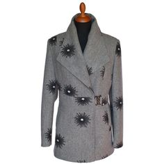 Dámsky kabát Double Breasted Suit, Suit Jacket, Suits, Jackets, Fashion, Down Jackets, Moda, Double Breasted, Suit