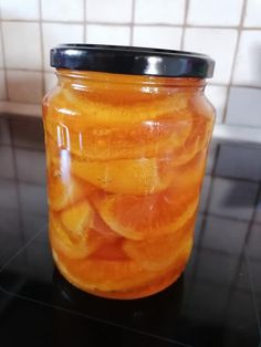 Syrup, Cantaloupe, Decoupage, Mason Jars, Sweets, Fruit, Food, Gummi Candy, Candy