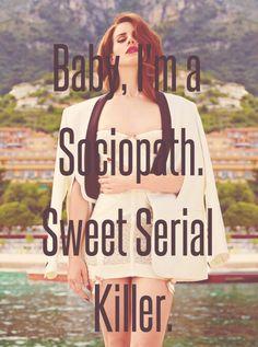 Lana Del Rey #LDR #Serial_Killer