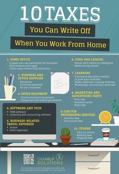 Having a work at home job offers convenience and flexibility. And you can also benefit from the number of taxes you can write off when working from home. Financial Tips, Financial Planning, Business Planning, Business Tips, Craft Business, Business Baby, Finance Business, Financial Assistance, Financial Peace