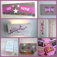 Roze voor de kinderkamer... #blog