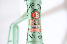 colour love for a 1948 Claud Butler   Bi-Laminated 'Olympic Path' Track Frame