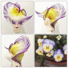 Fantasy Hair, Fantasy Makeup, Creative Haircuts, High Fashion Hair, Competition Hair, Mannequin Art, Hair Setting, Beauty Creations, Hair Color And Cut