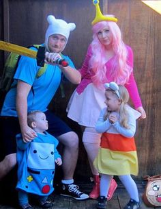 ADVENTURE TIME COSTUME! - The American Apparel Halloween Contest 2012     EVERYONE! PLEASE GO VOTE FOR US! <3
