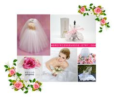 """""""Hello gorgeous"""" by cristianaradu ❤ liked on Polyvore featuring beauty, wedding, gifts, centerpiece and etsyfru"""