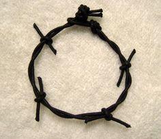Pulsera Nudos imitando la corona de espinas