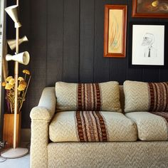 Vintage sofa - listening couch. #retro #vibes krrb.com/aloe
