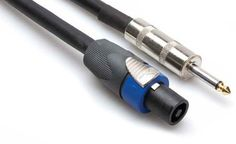 Conquest Sound N2Q14 50 50-Foot 2 Pole Speakon to 1//4-Inch 14 Gauge 2 Conductor Wire Neutrik NL2FC and 1//4-Inch Male