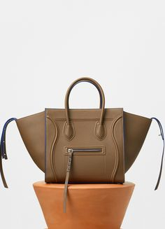 Luggage Phantom Tote Bag in Baby Grained Calfskin - Fall / Winter Collection 2016 | CÉLINE