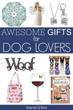 Everyone knows a dog lover! Here's a great gift guide to help you find them the perfect gift. Dog Mom Gifts, Dog Lover Gifts, Dog Photo Frames, Unique Gifts, Best Gifts, Puppy Drawing, Best Dog Food, Dog Accessories, Dog Care