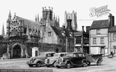 Photo of Ely, Market Place from Francis Frith Ely Cathedral, Yesterday And Today, Where The Heart Is, Britain, Past, England, Marketing, Places, Image