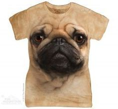 Dámské tričko Mopslík