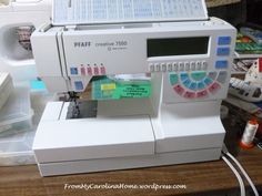 Last year, I did a post on Care of Your Older Sewing Machine, where I took apart several machines and went through how to clean and oil them yourself to save money. Older machines, out of warranty...