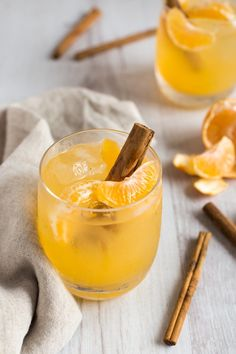 Clementine Whiskey Cocktail