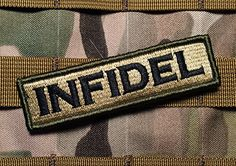 Tactical Multicam Infidel 1x4 Inch Velcro Military Morale Patch Empire Tactical http://www.amazon.com/dp/B00X1IT5C2/ref=cm_sw_r_pi_dp_SjOrvb1Q3GGEH