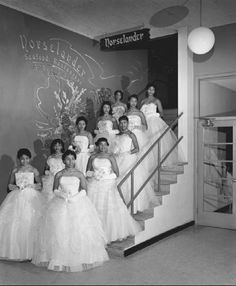 african americans in 1940's | Debutantes at a ball. Though variations exist, traditional dress for ...