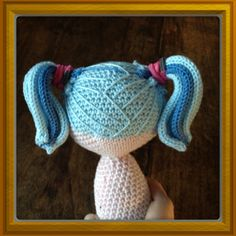 Amigurumi, crochet and sewing: Tips on how to create hair for your crocheted doll