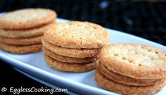 Whole Wheat Digestive Cookies - loved these when I lived in Germany but can't seem to find them here.