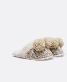 Zueco soft lana artesanal - OYSHO