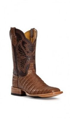 Cinch Women's Caiman Cowgirl Boot Square Toe - http://www.shoesslot.com/cinch-womens-caiman-cowgirl-boot-square-toe/